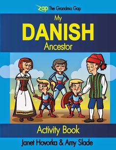 Zap the Grandma Gap: My Danish Ancestor Activity Book