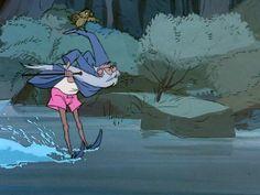 """Mago Merlino, un altro mito della mia infanzia. Non sono mai stata particolarmente attratta dalle principesse Disney """"canoniche"""", ho sempre preferito personaggi più particolari, quasi sempre i più divertenti."""