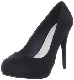 Michael Antonio Women's Loveme-2 Closed-Toe Pump,Black,8 M US Feel the love in these perfect everyday pumps from Michael Antonio.  Love Me 2 is a black round toe 4 1/2 inch heel, this style is completed with a 1/2 inch hidden platform. Grab a pair of these work or play heels before they're gone!