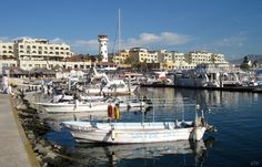 Marina, downtown Cabo San Lucas, Baja California (March 2007 and March 2012)