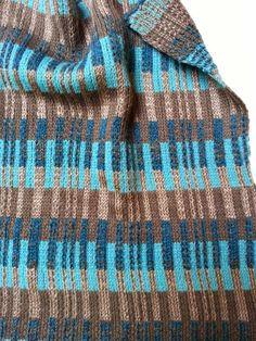 Beautiful machine knit colorwork by O!Jolly!.