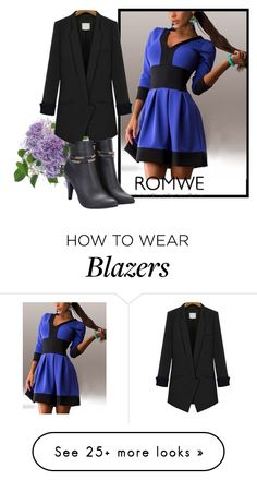 """Romwe II/4"" by dzemila-c on Polyvore featuring romwe"