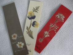 marcapaginas flores secas (3) | Aprender manualidades es facilisimo.com                                                                                                                                                                                 Más