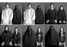 "Artist: Boushara Almutawakel. ""What if"" series. http://www.slate.com/blogs/behold/2012/11/29/boushra_almutawakel_photographing_variations_of_the_veil_photos.html"
