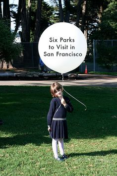 Have a picnic in San Francisco.  Life List Idea: 6 Must-Visit Parks in San Francisco | Go Mighty