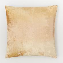 Ombre Velvet Pillow Cover - Gold