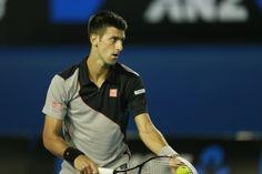Novak Djokovic at 2014 Australian Open #djokovic #uniqlo #australianopen #tennis