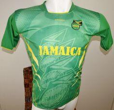 JAMAICA SOCCER JERSEY T-SHIRT GREEN DRAKO FÚTBOL ONE SIZE L FOOTBALL #Drako #soccershirts #soccerjerseys #fifaworldcup #football #soccer #worldcup2014 #jamaica