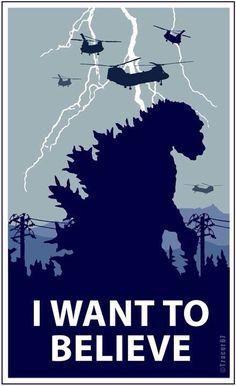 Godzilla - I want to believe