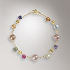 Jewels with colorful gemstones - Paradise collection by Marco Bicego.