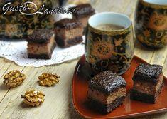 Prajitura cu mere si nuci (de post) Romanian Food, Tarts, Cooking Recipes, Sweets, Cake, Desserts, Kuchen, Mince Pies, Postres