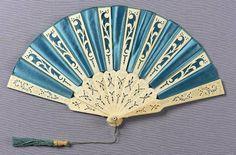 >y<   Fan, 1870-80 France, Museum of Fine Arts Boston