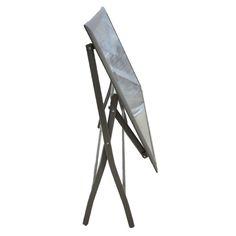 Τραπέζι μεταλλικό πτυσσόμενο 130x75cm έπιπλα κήπου βεράντας  (tc004)