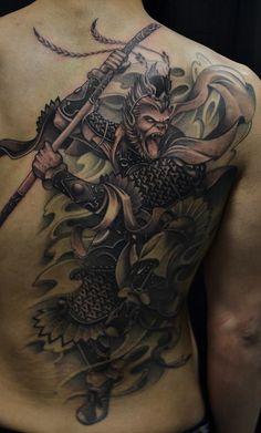 Resultado de imagen para sun wukong tattoo