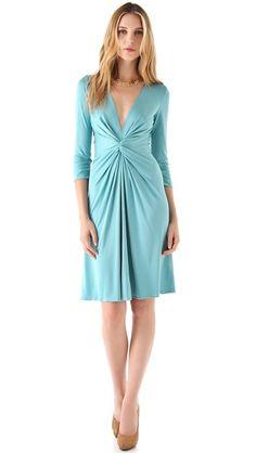 ISSA Long Sleeve V Neck Dress $475 http://www.shopbop.com/lone-sleeve-neck-dress-issa/vp/v=1/845524441948159.htm?folderID=2534374302063655=other-shopbysize-viewall=12067