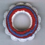 Summer Wreath Napkin Ring