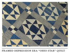 antique ohio star quilts - Google Search