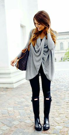 Grey and Black