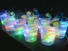 3-Color LED 'Glass of Lemonade' Night Light ~ So Cool! What a GREAT kitchen night light! A few of these and a decorative tray for them to sit on and they will look awesome at night and like a normal tray of drinks during the day. I'm definitely ordering a few of these. :)
