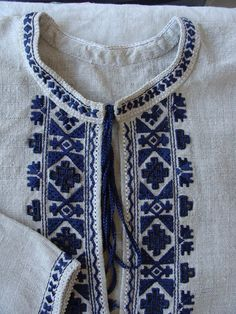 Робота Олени Дідик Polish Embroidery, Hand Embroidery Dress, Folk Embroidery, Embroidered Clothes, Modern Embroidery, Cross Stitch Embroidery, Embroidery Patterns, Machine Embroidery, Simple Embroidery Designs