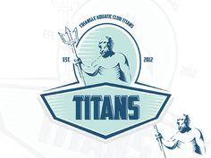 Titans Logo by Creatiph Market on Creative Market Badge Template, Logo Templates, Titan Logo, Music Festival Logos, Crest Logo, Portfolio Logo, Construction Logo, Animal Drawings, How To Draw Hands