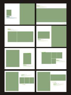 相册模板 相册排版图片