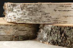 """Round Natural Birch Tree Slabs 12-13"""" wide $19 - would be great to use for a small side table top (http://decorhacks.com/2011/10/log-slice-side-table//) if nothing can be found for free"""