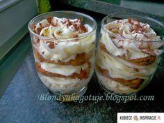Cute Desserts, Tiramisu, Polish Recipes, Love Cake, Mousse, Food And Drink, Pudding, Sweets, Baking