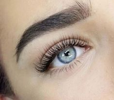 Lovely Eyelash extensions. Tint lower lashes or add lower lash extensions.
