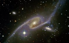 Giant Galaxy NGC 6872 Over 400,000 light years across NGC 6872 is an enormous…