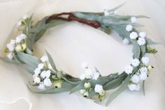 Sunflower Flower Crown with Green Leaves and Babies Breath Wedding Hair Yellow Floral Halo Boho Wedding Bridesmaid or Flower Girl Headband Floral Wedding Hair, Wedding Flower Guide, Wedding Flowers, Wedding Ideas, Floral Hair, Bridal Hair, Wedding Stuff, Dream Wedding, Flower Girl Hairstyles