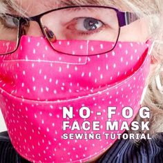 Easy Face Masks, Homemade Face Masks, Diy Face Mask, Sewing Hacks, Sewing Tutorials, Sewing Ideas, Sewing Basics, Sewing Tips, Sewing Projects For Beginners