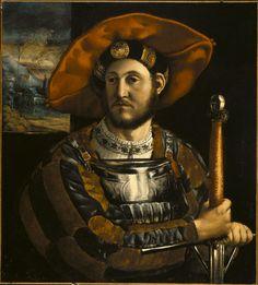 ab. 1520 Dosso Dossi - A Condottiere