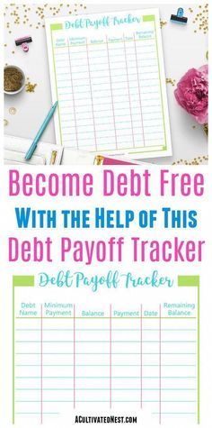 paying off debt worksheets debt payoff pinterest debt debt