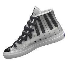 Piano keyboard converse shoe/boot