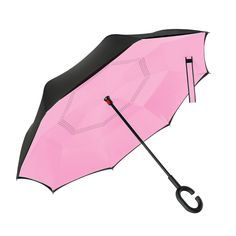 Double Layer Inverted Inverted Umbrella Is Light And Sturdy Pattern Magic Unicorn Star Reverse Umbrella And Windproof Umbrella Edge Night Reflection