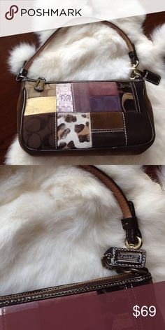 Small coach purse. Lovely small coach purse, has been used, but good condition and clean. Bags Clutches & Wristlets