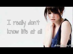 Carly Rae Jepsen - Both Sides Now (with lyrics) - YouTube