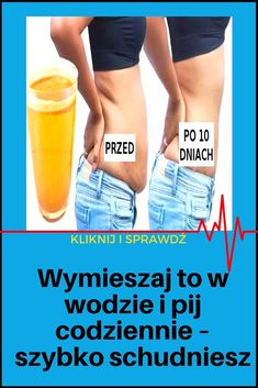 Drink Bottles, Vitamins, Food And Drink, To Działa, Natural Things, Exercises, Health, Exercise Routines, Excercise