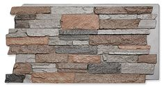 Faux stone wall panels and siding for interior and exterior designs, made of a high quality, natural looking material to attract the eye & endure for years. Fake Stone Wall, Faux Stone Wall Panels, Faux Stone Siding, Faux Panels, Stone Wall Design, Best Interior Design Websites, Kitchen Wall Decals, Diy Wall Painting, Light Blue Walls