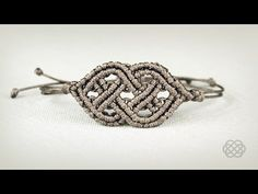Celtic Bracelet Tutorial in Vintage Style | Macrame School - YouTube