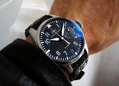 Most Loved Watch: My Original IWC Big Pilot - http://www.dmarge.com/2014/08/loved-watch-original-iwc-big-pilot.html
