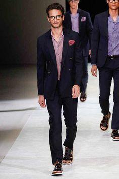 Giorgio Armani   Spring 2015 Menswear Collection