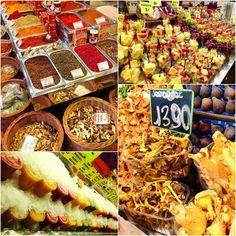 MUST: La Boqueria :)) el mejor mercado del mundo Vegan Travel: Barcelona, Spain- Part 2 -