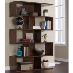 68-inch Solid Birch Veneer Bookshelf - Overstock™ Shopping - Great Deals on Media/Bookshelves