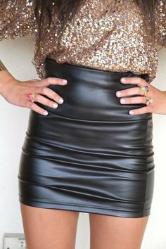 Leather N' Sparkle