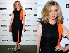 Natalie Dormer In Roksanda Ilincic – InStyle Best Of British Talent Pre-BAFTA Party. Get the dress for $1,486 at http://www.matchesfashion.com/product/188130