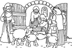19 Beste Afbeeldingen Van Bijbelonderwijs Kerst De Herders Xmas