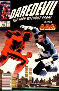 Daredevil vs. the Tylenol tamperer - and the Punisher!