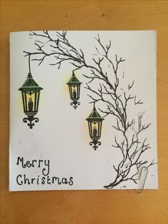 Card-io Vintage Christmas Clear Stamp Set, Synthetic Material, x x cm Homemade Christmas Cards, Christmas Cards To Make, Xmas Cards, Christmas Stuff, Vintage Christmas, Greeting Cards, Cardio Cards, Lavinia Stamps, Art Impressions